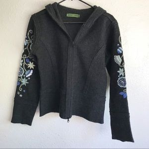Oilily Embroidered Wool Jacket